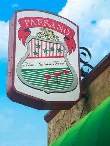 Paesano Fine Italian Food North park San Diego