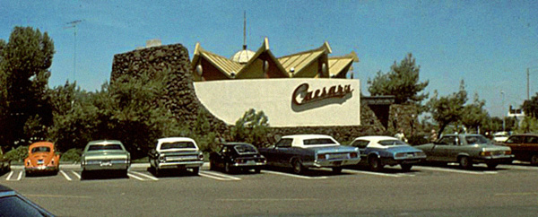 Caesars, Mission Valley, 1970s