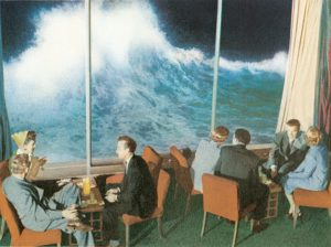 San Diego's Oldest Restaurants - The Marine Room, La Jolla, in 1949