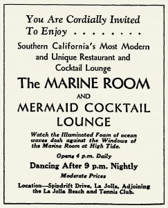 First Marine Room ad