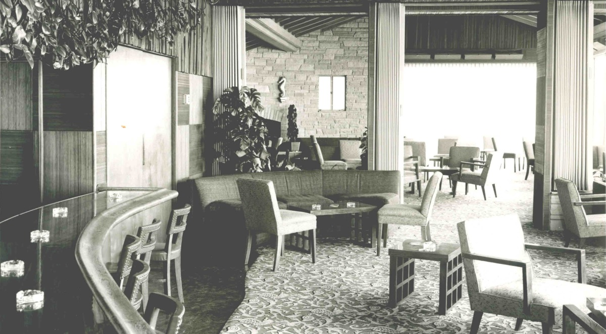 The Marine Room, bar, 1953