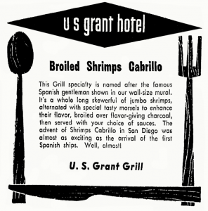 Lubach's Shrimp Cabrillo recipe