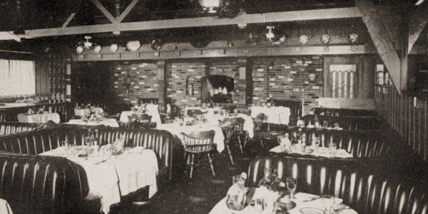 Interior of Lubach's Restaurant, 1959