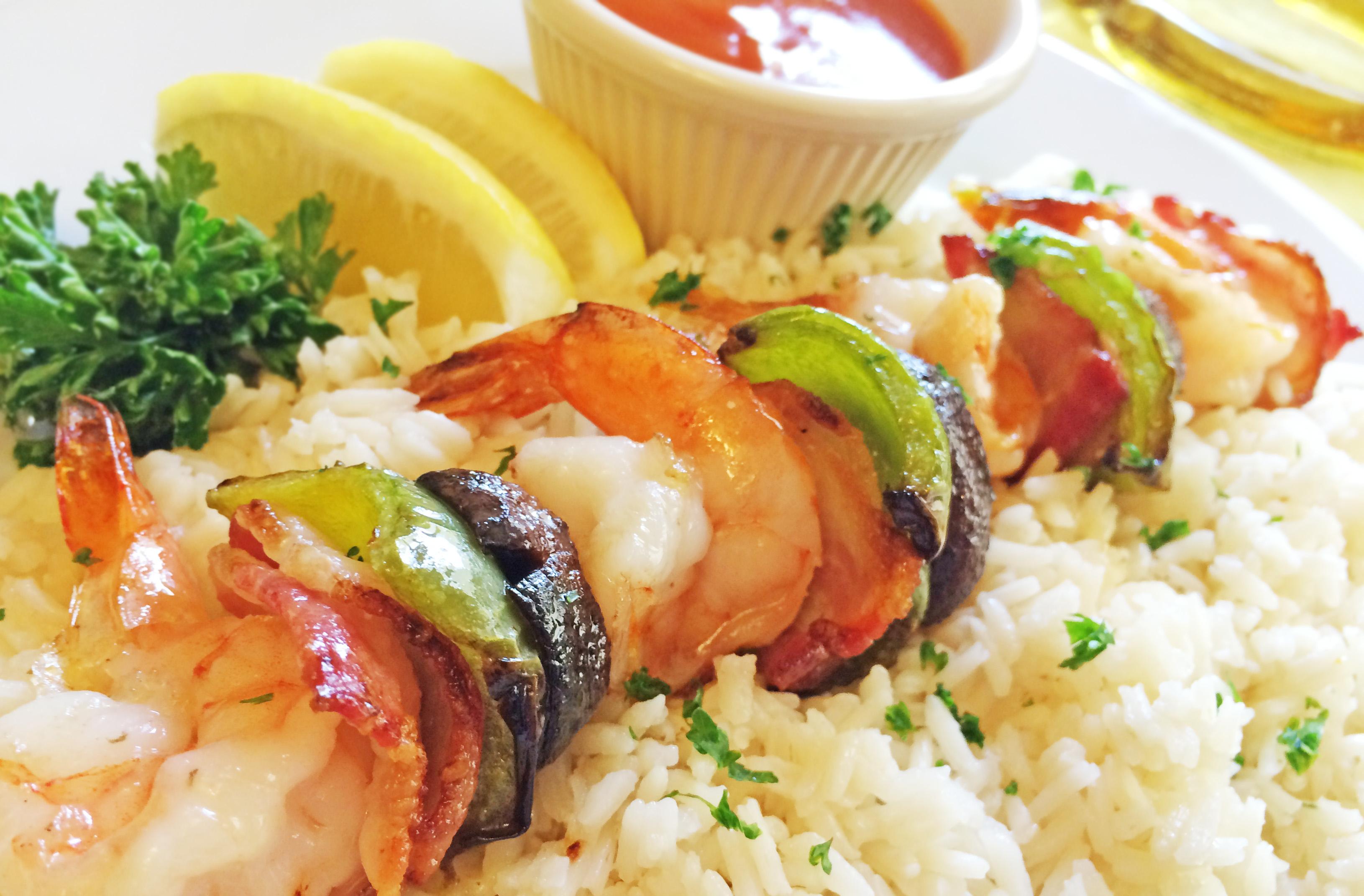 Lubach's Cabrillo Shrimp