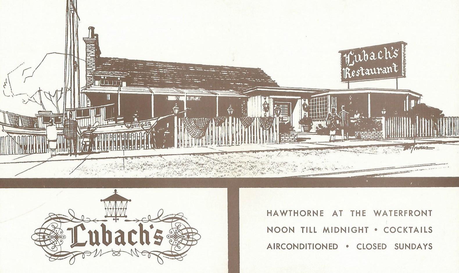 Lubach's Restaurant, San Diego