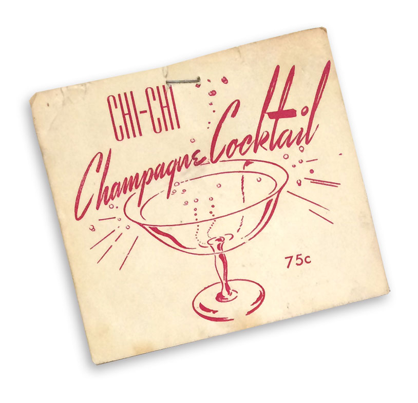 Chi-Chi Champagne Cocktail