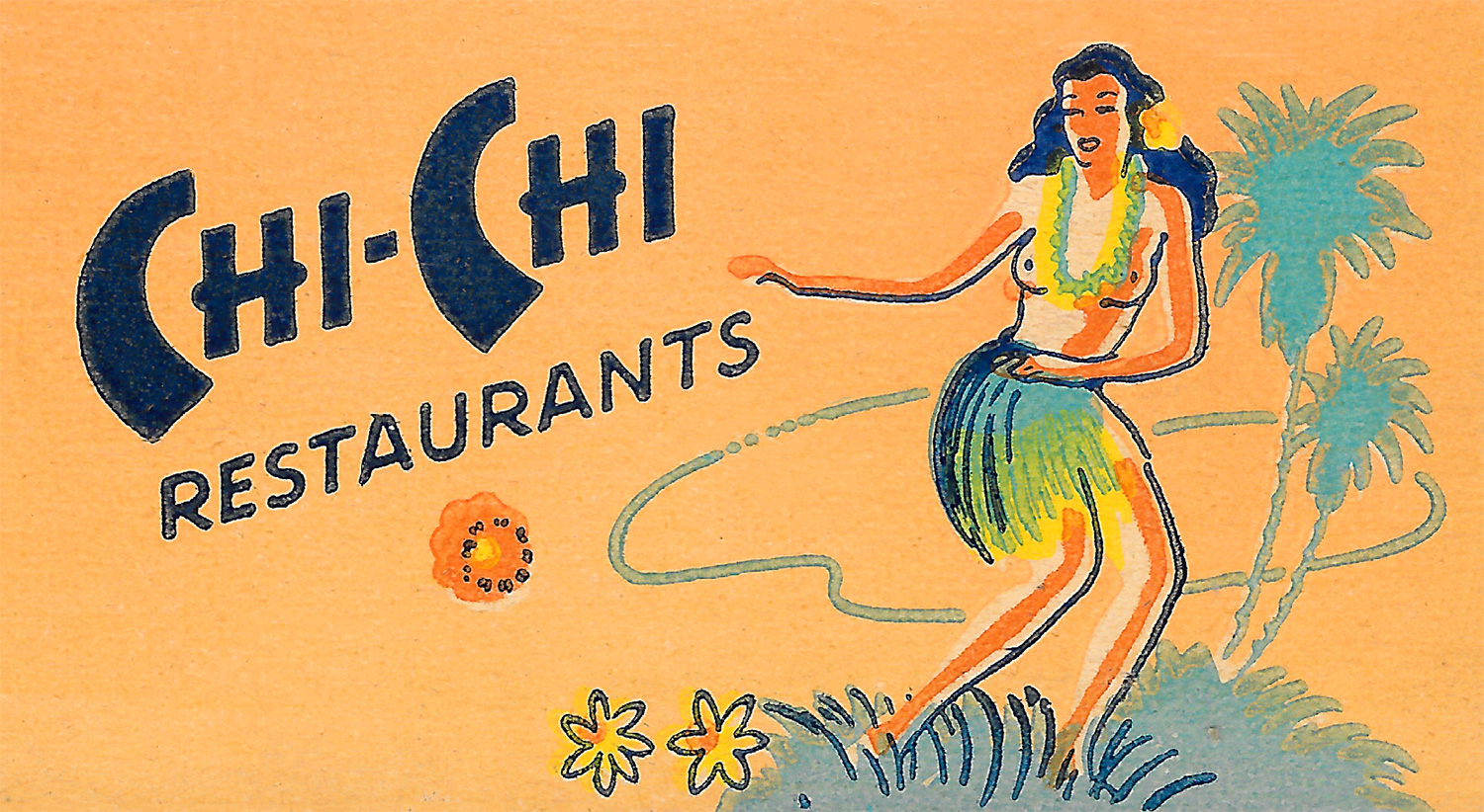 Chi-Chi Restaurants match cover art