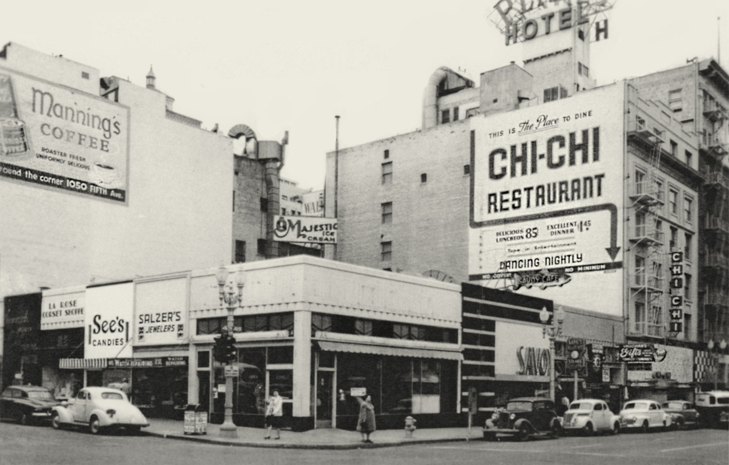 1946 Chi-Chi Club Savoy Cafe