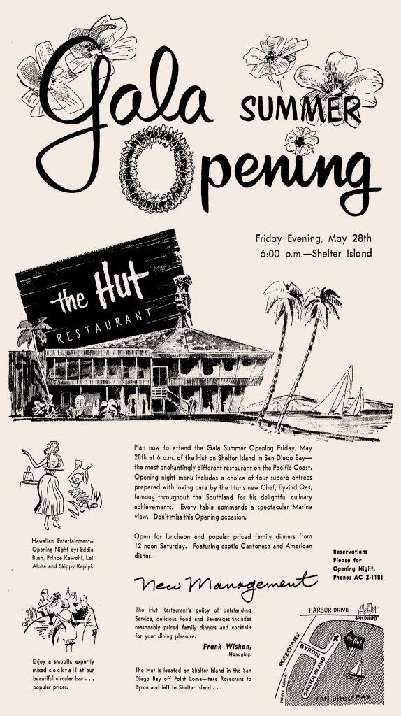1954-05-28-The-Hut-reopens-under-Wishon-mgmt