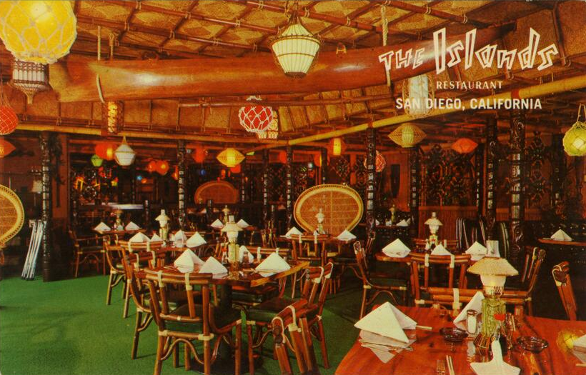 Islands Restaurant interior