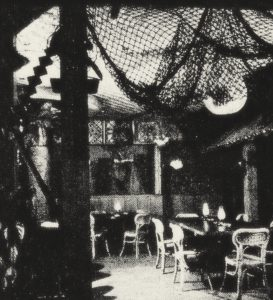 The Luau Room in 1950.
