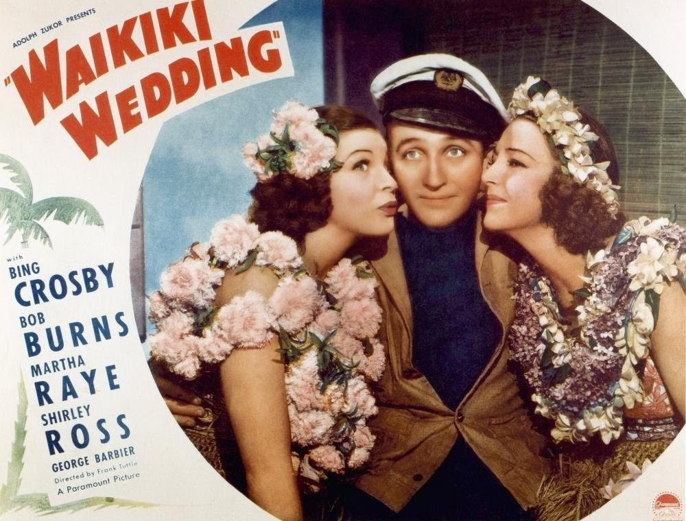 Waikiki Wedding lobby card