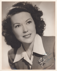 Margaret Alieene Shook aka Aline Hudson in the 1940s