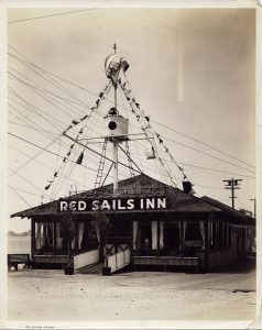 Red Sails Inn, c 1936