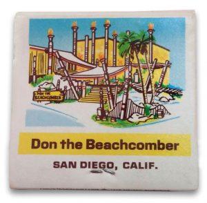 Don the Beachcomber, Sheraton Inn, San Diego
