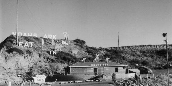 Noah's Ark Cafe, Leucadia, San Diego, 1948
