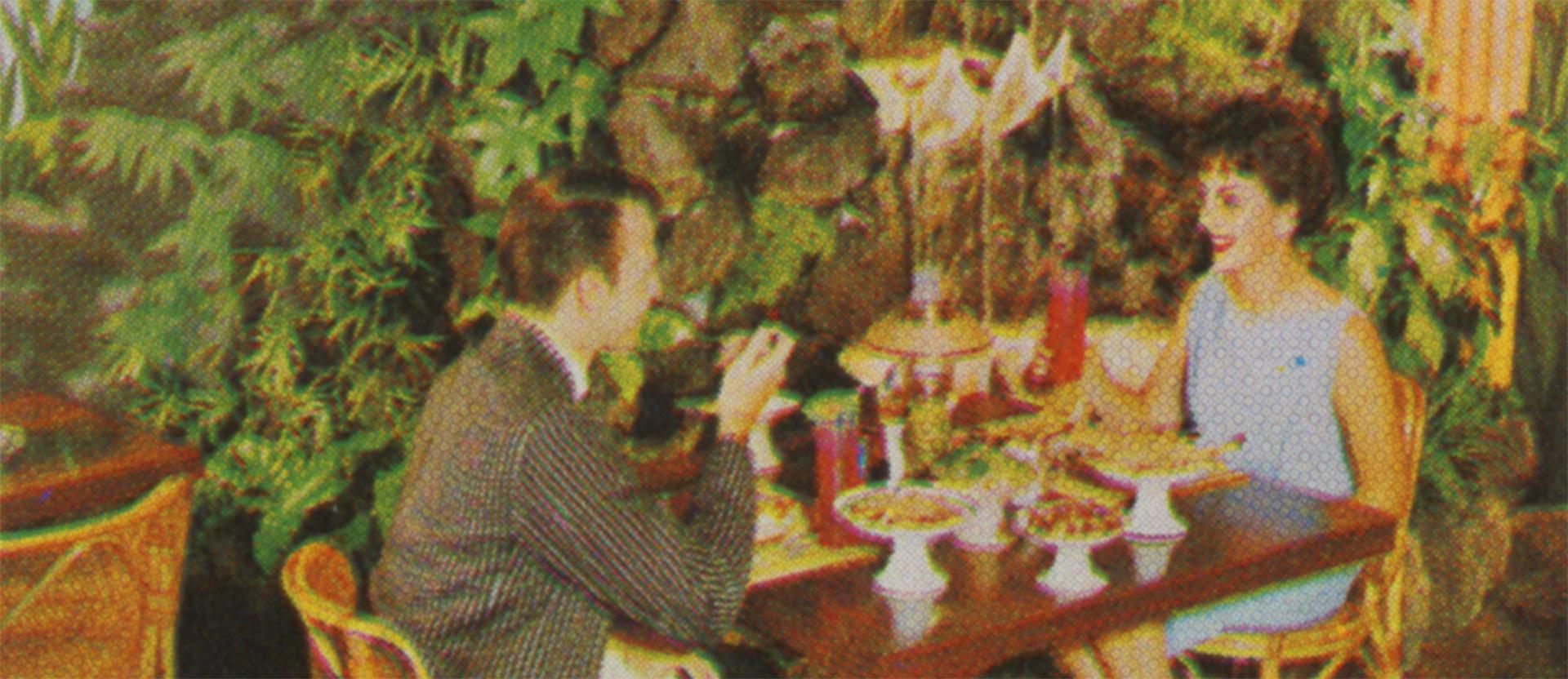 Luau Room, Hotel del Coronado, 1962