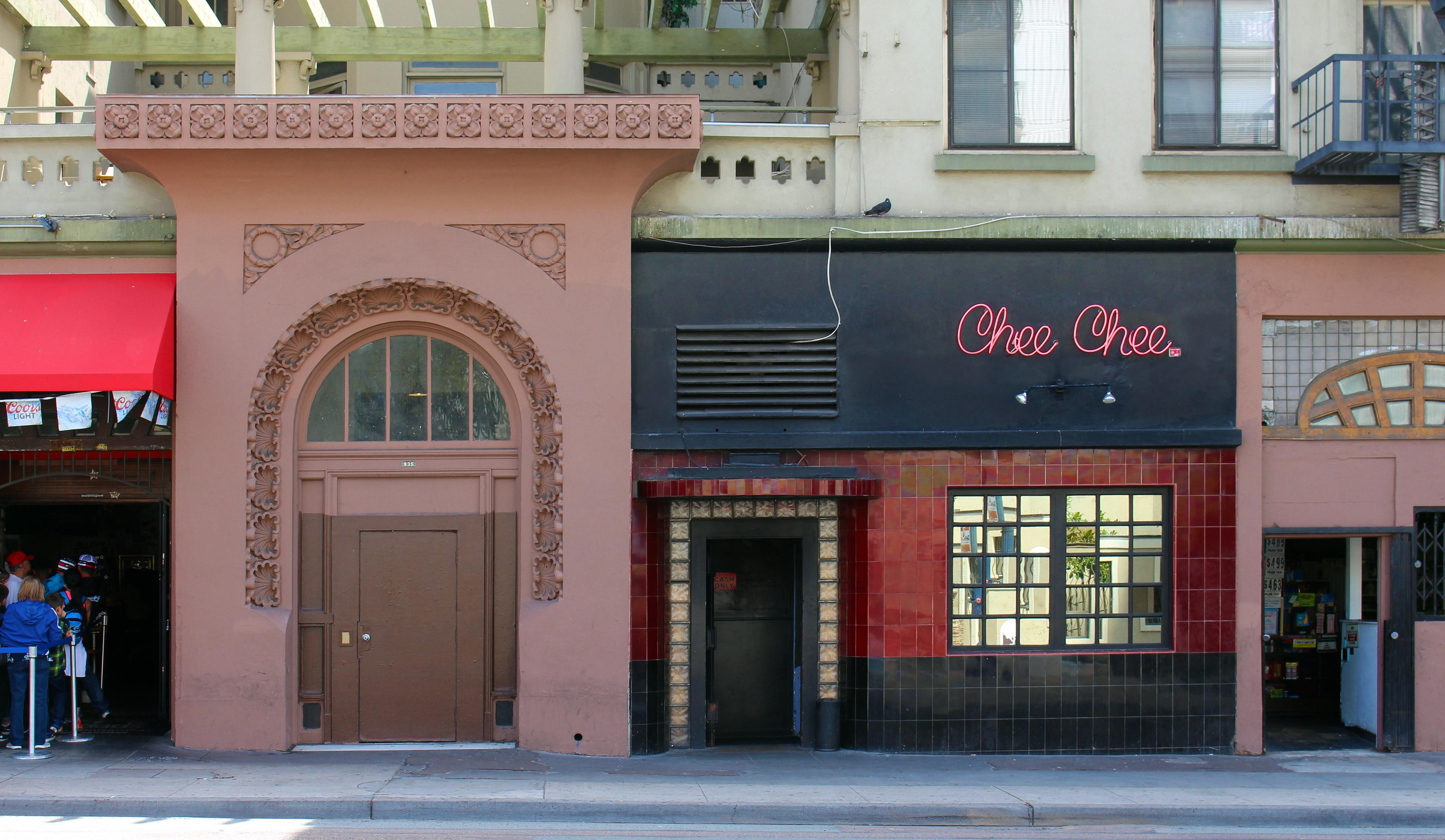 Chee Chee Club, San Diego, 2017.