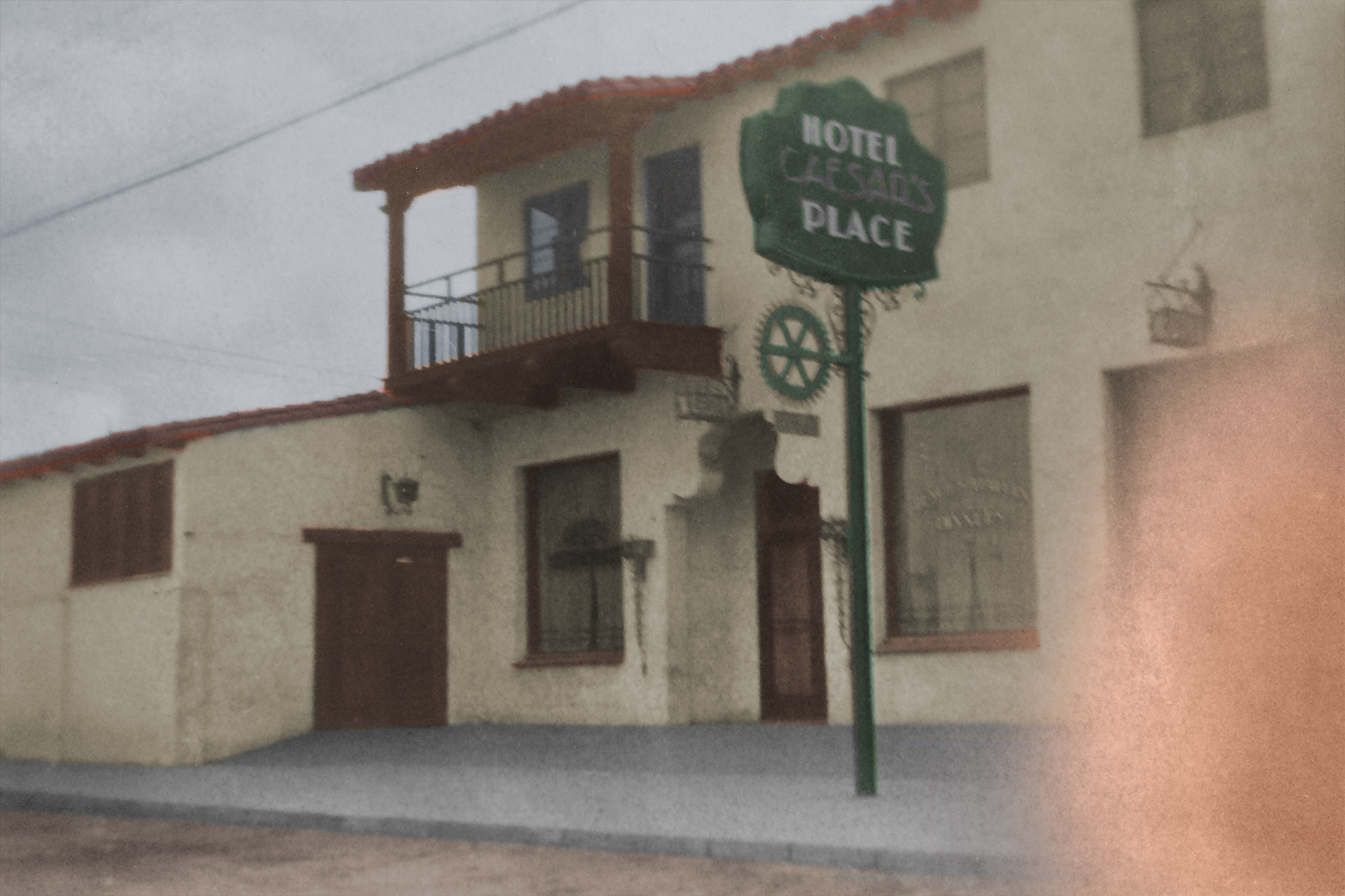 Hotel Caesar's Place, Tijuana, 1931