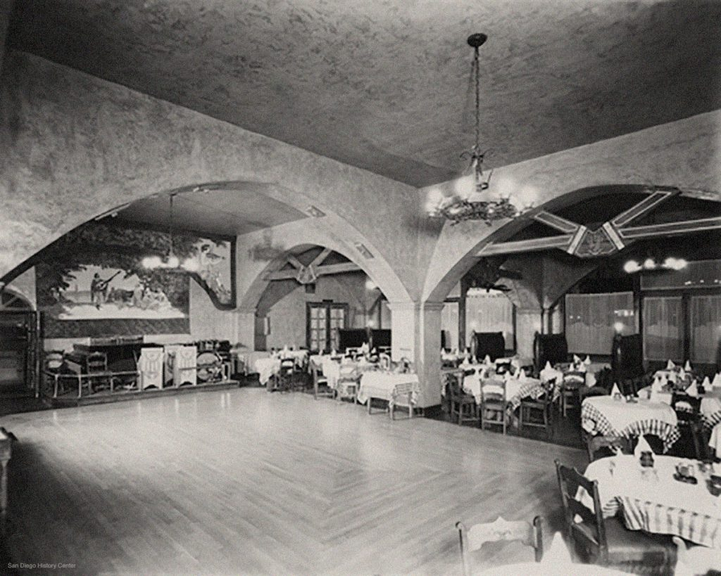 Interior, Original Caesar's Place, 1935
