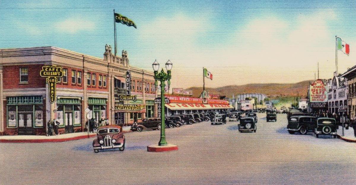 1935 Original Caesar's Place, Hotel Caesar, Tijuana, 1935