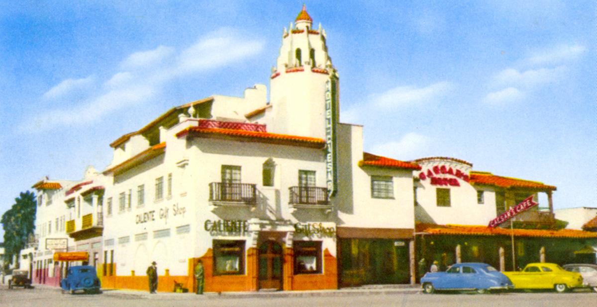 Hotel Caesar, 1940s
