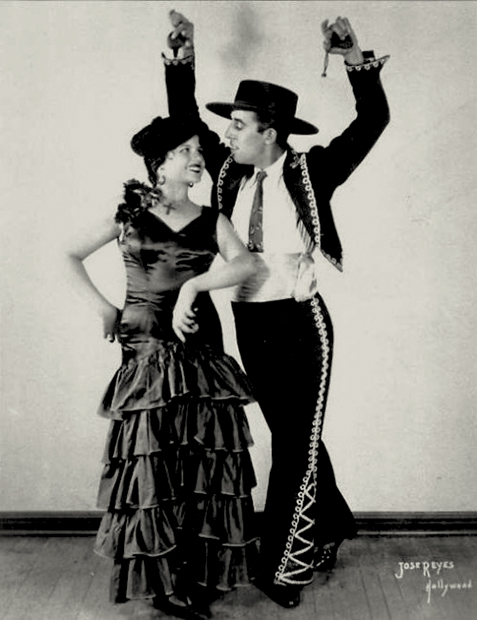 Dancers Margarita and Eduardo Cansino