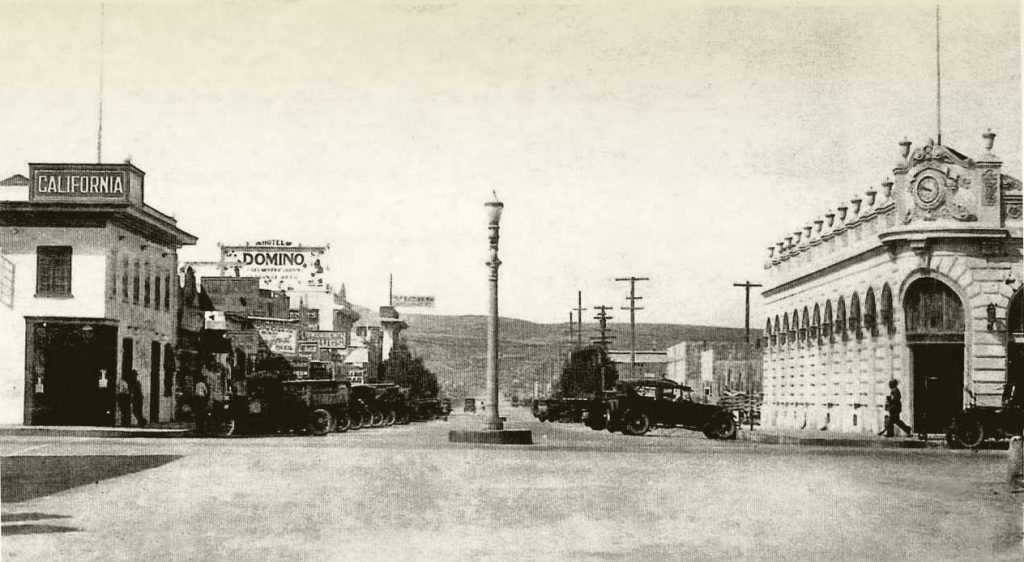 Domino Hotel and Vick's, Tijuana, c1927