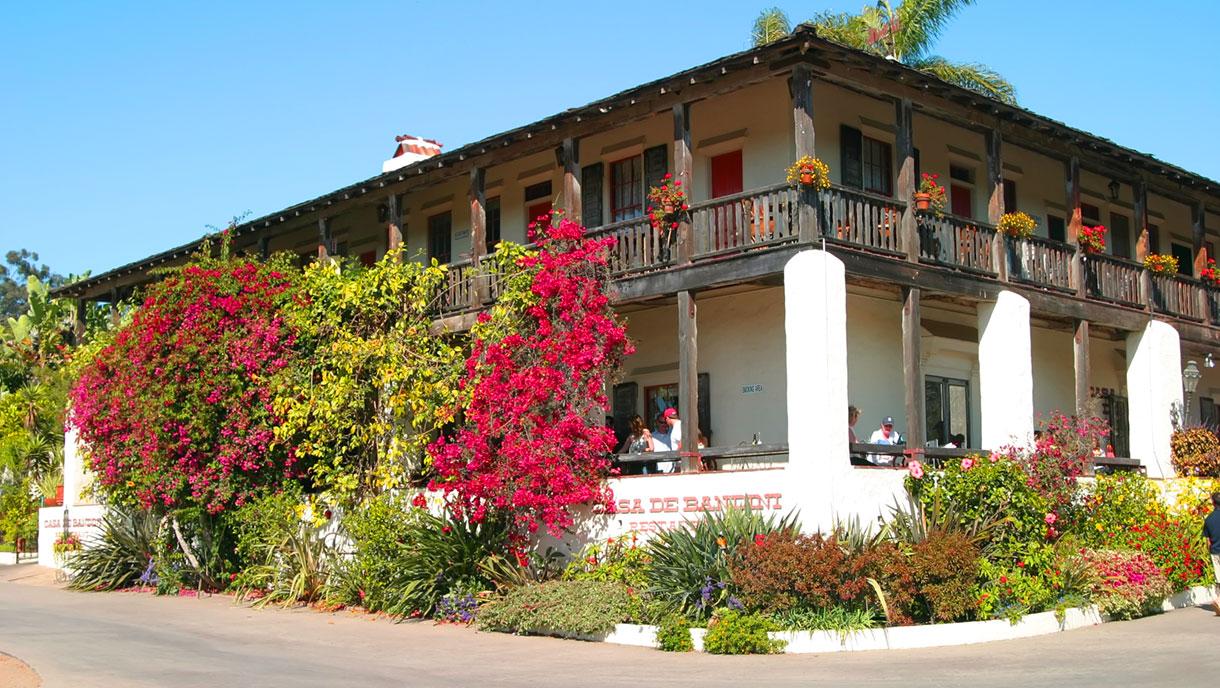 Casa de Bandini Restaurant, Old Town San Diego