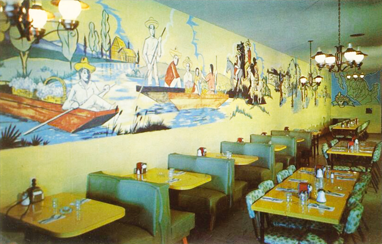 Pat Brillo's Original Mexican restaurant interior