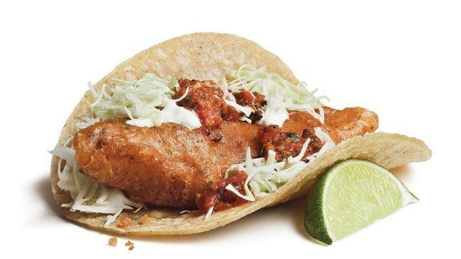 Rubios original fish taco