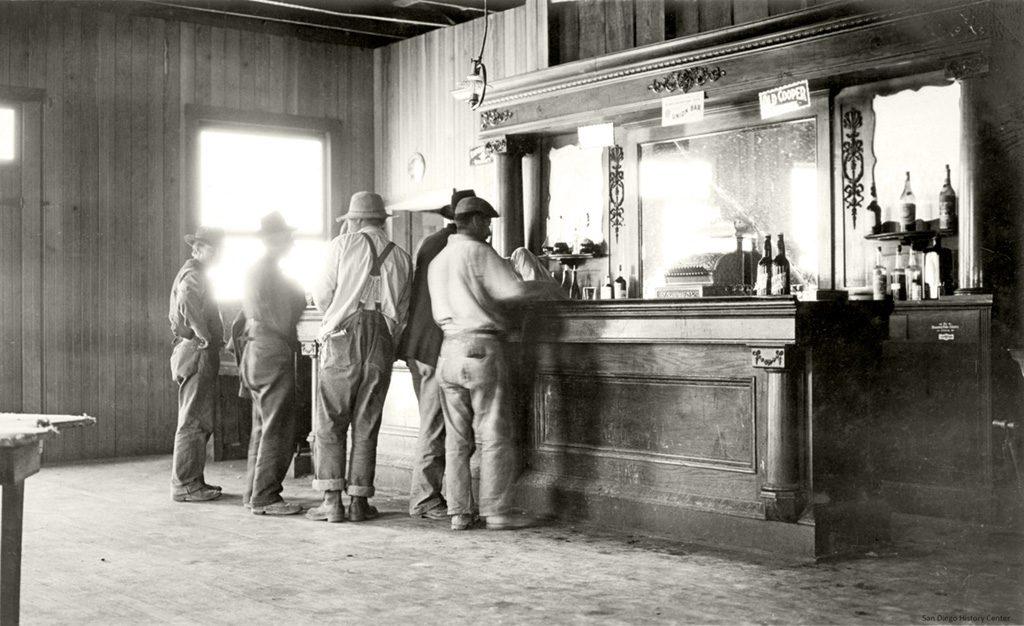 Tivoli Saloon San Diego 1880s