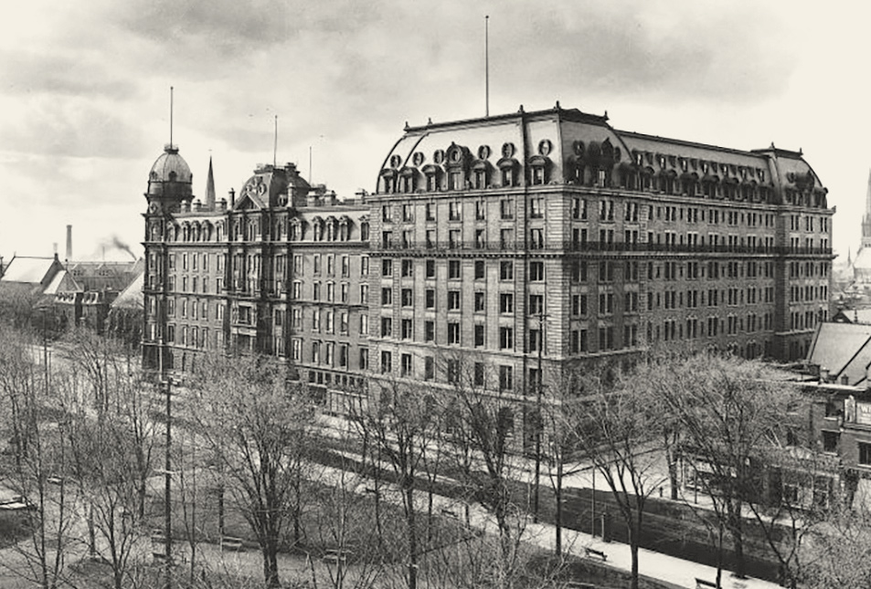 1906 Windsor Hotel, Montreal, Quebec