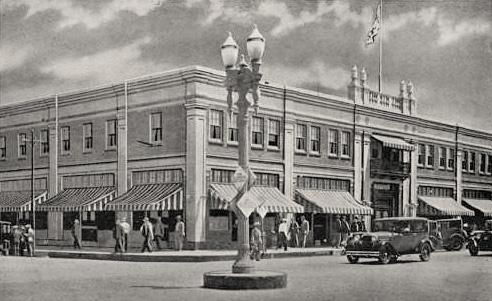New Hotel Comercial Tijuana, 1928