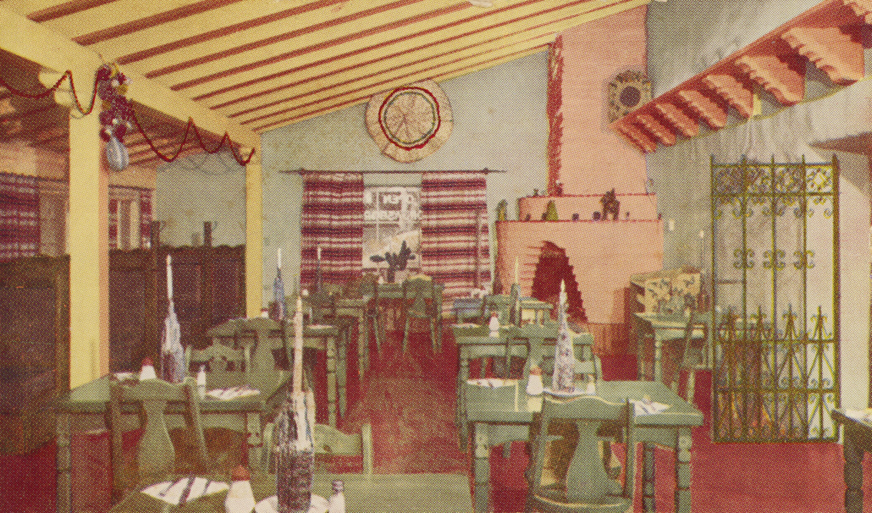 El Nopal Dining Room 1959