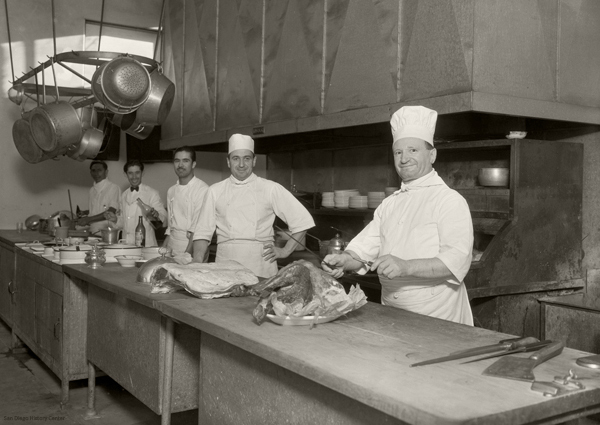 Chefs at Caesar's Original Place
