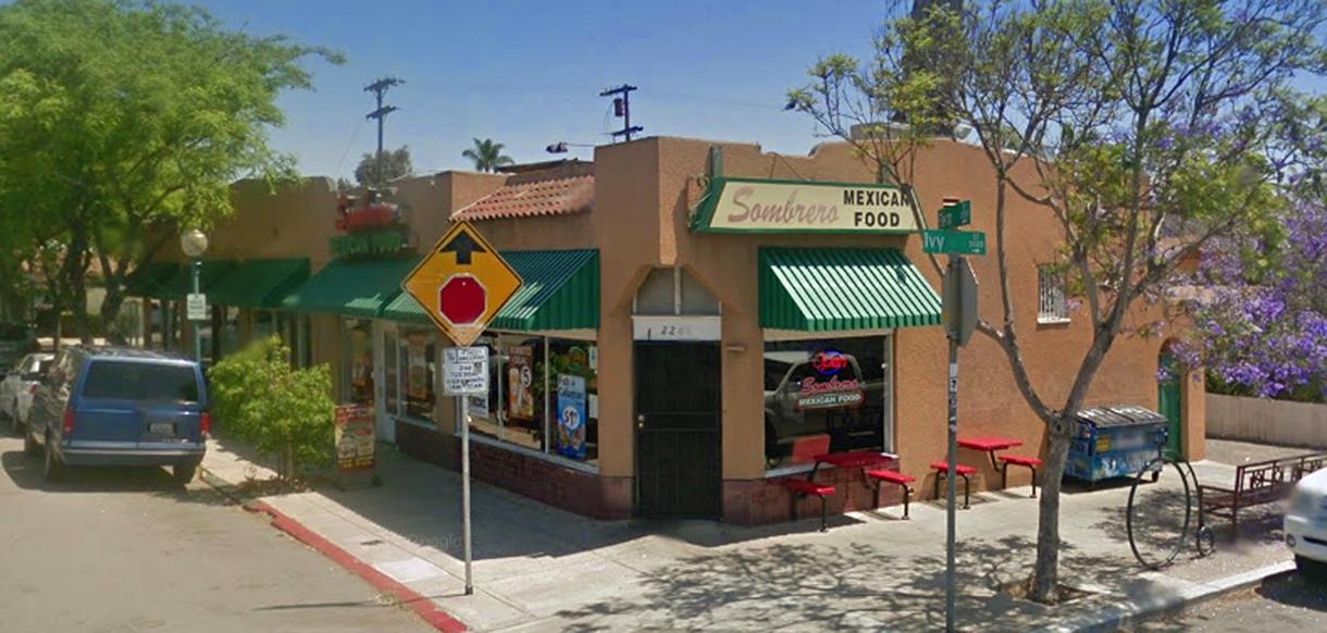 Sombrero Mexican Food San Diego