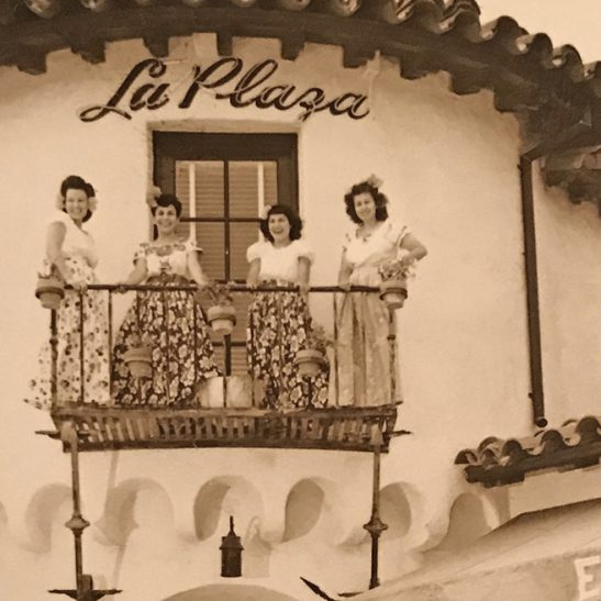 La Plaza Restaurant, Bird-Rock, La Jolla Hermosa, 1947
