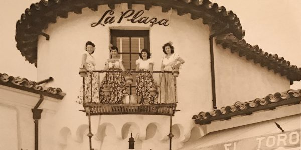 La Plaza Restaurant, Bird-Rock, La Jolla Hermosa, 1947