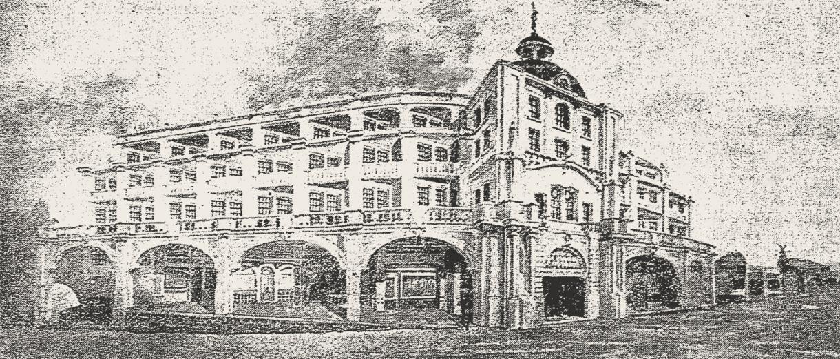 American Hotel, Tijuana 1924