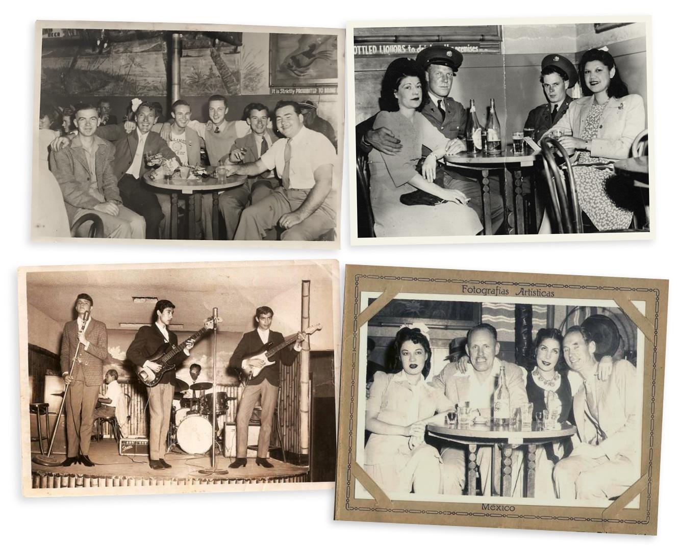 Aloha Cafe Tijuana souvenir photos