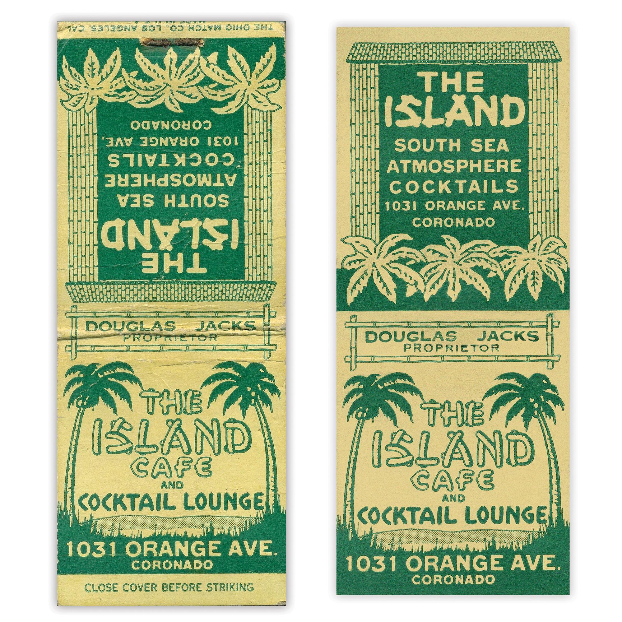 Island Cafe matches