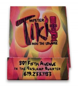 Mr Tiki Mai Tai Lounge matches