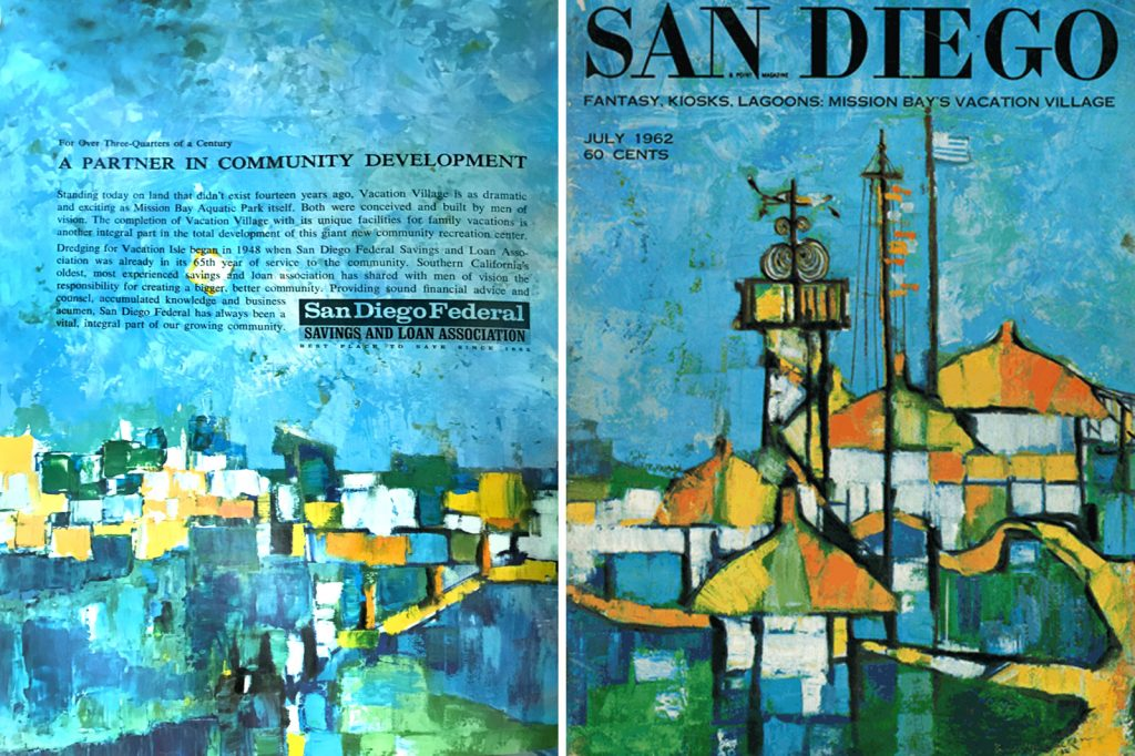 July 1962 San Diego magazine covers