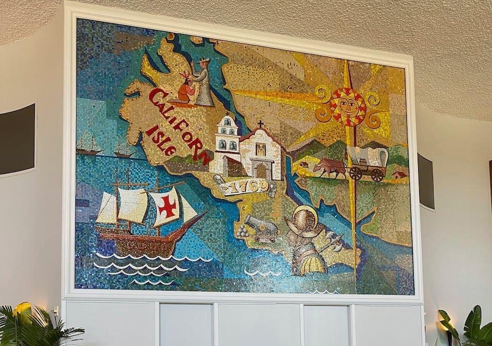 2021 Town and Country Atlas Ballroom mural 1
