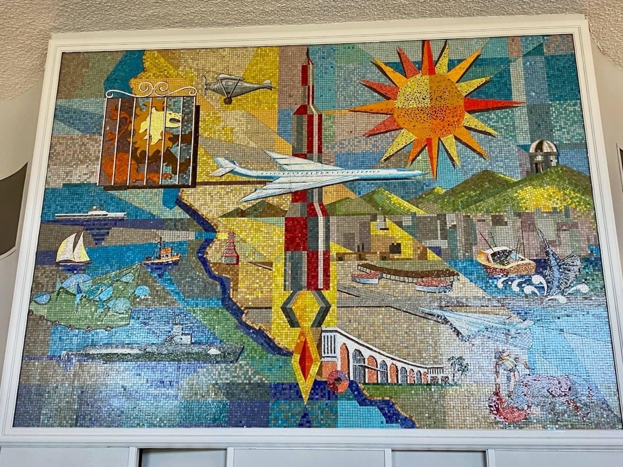 2021 Town and Country Atlas Ballroom mural 2